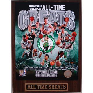 Boston Celtics All Time Greats Plaque