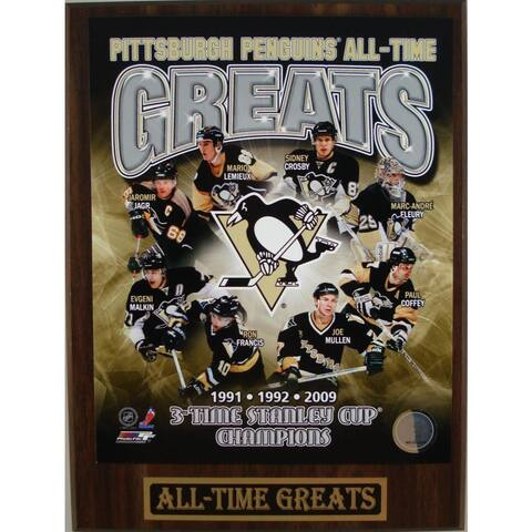 Pittsburgh Penguins All Time Greats Plaque