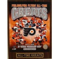 Philadelphia Flyers All Time Greats Plaque