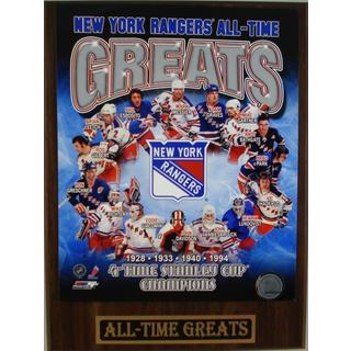 New York Rangers All Time Greats Plaque