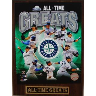 Seattle Mariners All Time Greats Plaque