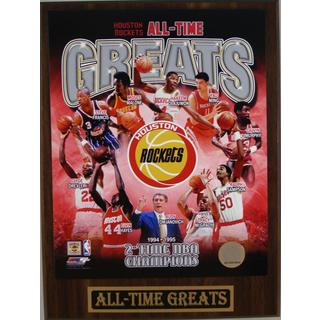 Houston Rockets All Time Greats Plaque