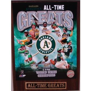 Oakland Athletics All Time Greats Plaque