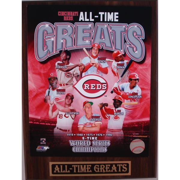 Cincinnati Reds All Time Greats Plaque