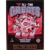 Cincinnati Reds All Time Greats Plaque