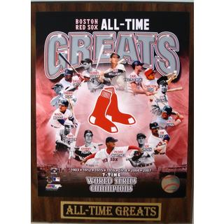 Boston Red Sox All Time Greats Plaque