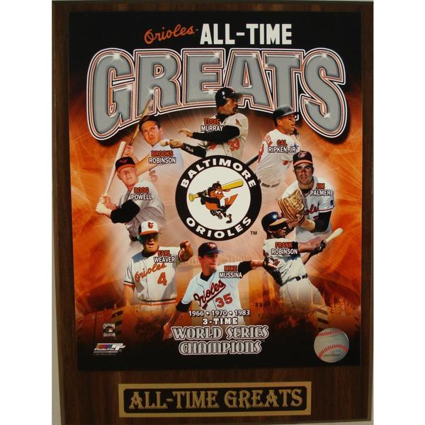 Baltimore Orioles All Time Greats Plaque