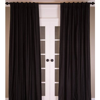 Signature Pure Silk Dupioni Curtain Panel