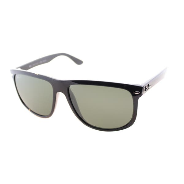 beca9493a32 ... Ray-Ban Unisex  RB 4147 601 58  Black Plastic Polarized Sunglasses ...