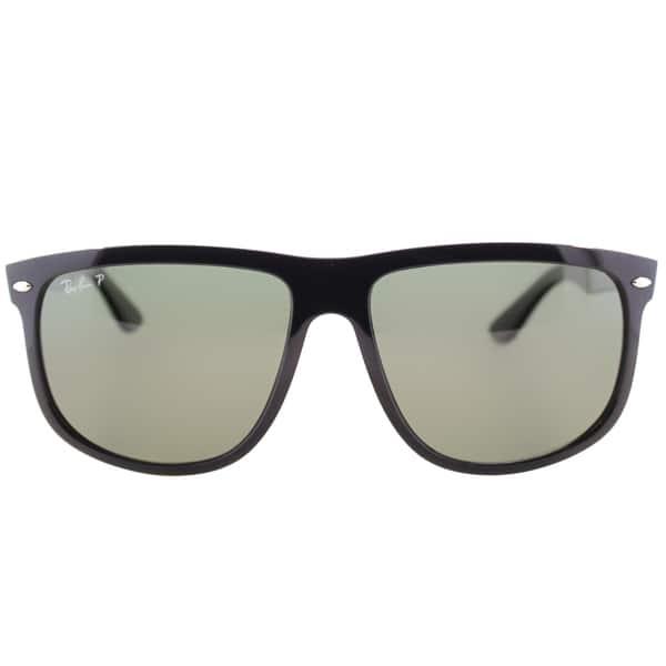 93f2c5e6555 ... Ray-Ban Unisex  RB 4147 601 58  Black Plastic Polarized Sunglasses ...