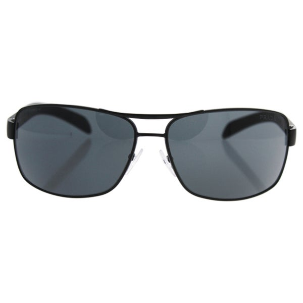 Shop Prada Linea Rosa Men s  PS 54IS 1BO1A1  Aviator Sunglasses ... c8d876a25befb