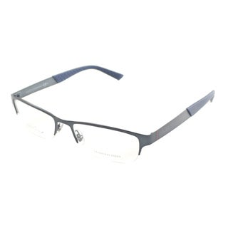 Gucci Men's 'GG 2230 R0N' Semi-rimless Eyeglasses
