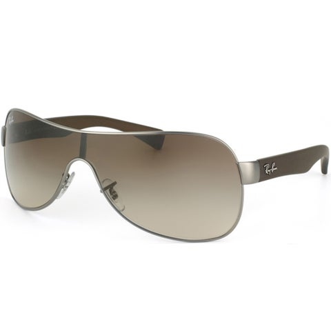 Ray Ban Unisex 'RB 3471 029/13' Shield Sunglasses
