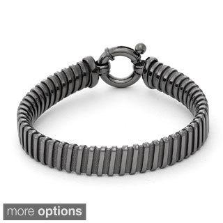 Gioelli Sterling Silver Tubogas Designer Bracelet