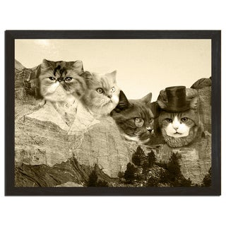 Meowmore Funny 18 x 24 Art Print