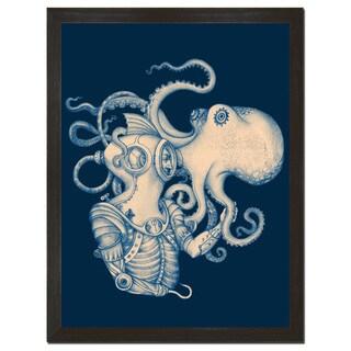 Deep Sea Discovery 18x24-inch Art Print