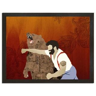Haymaker 18x24-inch Art Print