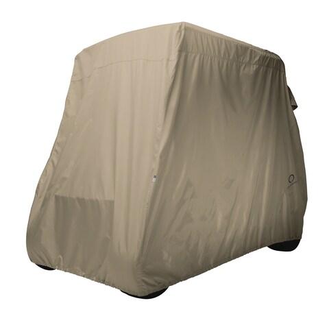 Classic Accessories Fairway Golf Car Cover, Long Roof, Khaki
