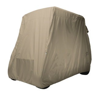 Classic Accessories Fairway Golf Car Cover, Short Roof, Khaki