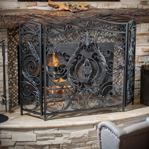 Waterbury Fireplace Screen by Christopher Knight Home