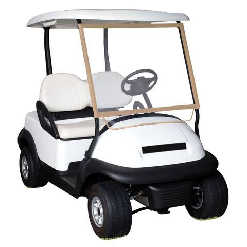 Classic Accessories Fairway Deluxe Portable Golf Cart Windshield