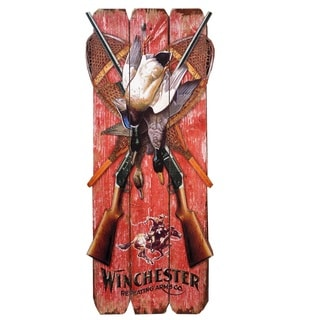 Winchester Successful Hunter Decorative Wood Sign