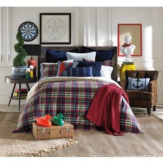 Shop Tommy Hilfiger Middlebury Plaid Comforter Set Free