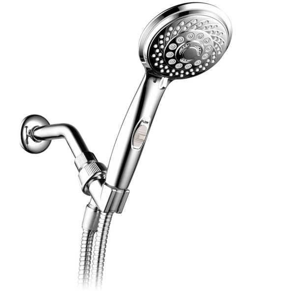 HotelSpa AquaCare Series Ultra Luxury 7-setting Spiral Hand-shower ...