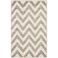 Safavieh Indoor/ Outdoor Amherst Wheat/ Beige Rug - 3' x 5'