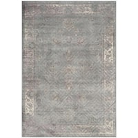 Safavieh Vintage Oriental Grey Distressed Silky Viscose Rug - 6'7 x 9'2