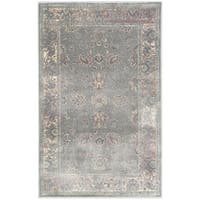 Safavieh Vintage Oriental Grey Distressed Silky Viscose Rug - 2' x 3'