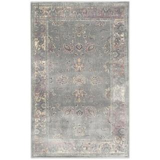 Safavieh Vintage Oriental Grey Distressed Silky Viscose Rug (3'3 x 5'7)