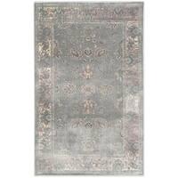Safavieh Vintage Oriental Grey Distressed Silky Viscose Rug - 3'3 x 5'7