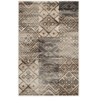 Safavieh Vintage Stone Distressed Silky Viscose Rug (3'3 x 5'7)