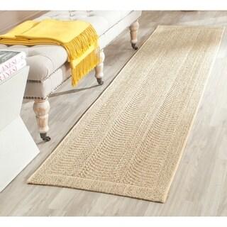 Safavieh Palm Beach Desert Sand Sisal Rug (2' x 8')
