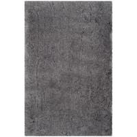 Safavieh Handmade Arctic Shag Grey Polyester Rug (2'6 x 4')