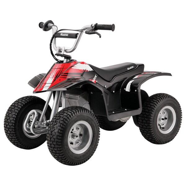 Razor Black/ Red Electric Dirt Quad