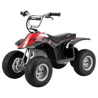 Razor Black/ Red Electric Dirt Quad