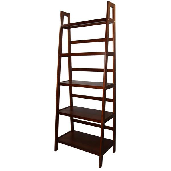 5-tier Wooden Ladder Shelf - Free Shipping Today ...