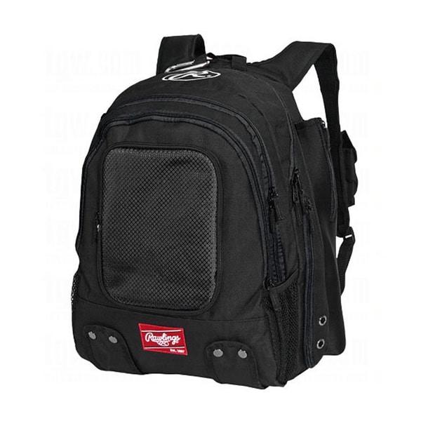 Rawlings Black Baseball Player Backpack