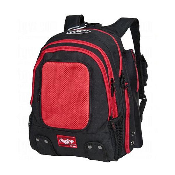 Rawlings Baseball Player Scarlet Backpack