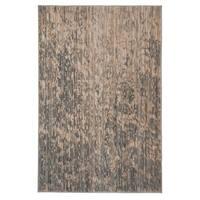 Safavieh Infinity Beige/ Grey Polyester Rug - 5'1 x 7'6