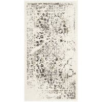 Safavieh Porcello Distressed Ivory/ Light Grey Rug - 2' x 3'7