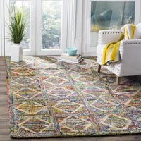 Safavieh Handmade Nantucket Modern Abstract Multicolored Cotton Rug - multi - 4' Square