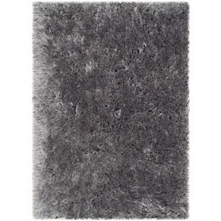 Safavieh Handmade Arctic Shag Grey Polyester Rug (2' x 3')