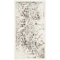 Safavieh Porcello Distressed Ivory/ Light Grey Rug - 2'7 x 5'