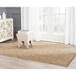Safavieh Infinity Yellow/ Green Polyester Rug (8' x 10')