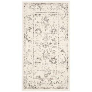 Safavieh Porcello Oriental Distressed Ivory/ Light Grey Rug (2'7 x 5')
