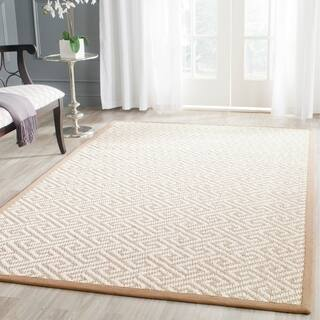 Safavieh Casual Natural Fiber Hand-Woven Natural Sisal Rug (9' x 12')|https://ak1.ostkcdn.com/images/products/9575250/P16764330.jpg?impolicy=medium