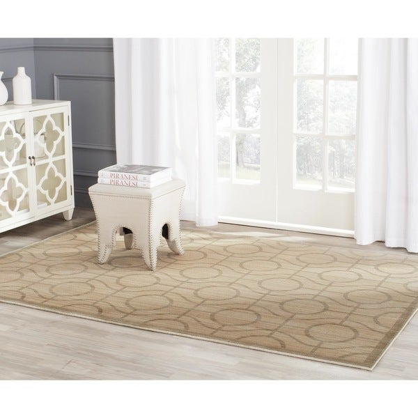 Safavieh Infinity Yellow/ Green Polyester Rug - 9' x 12'